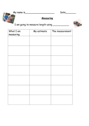 All Worksheets » Estimating And Measuring Length Worksheets  Printable Worksheets Guide For