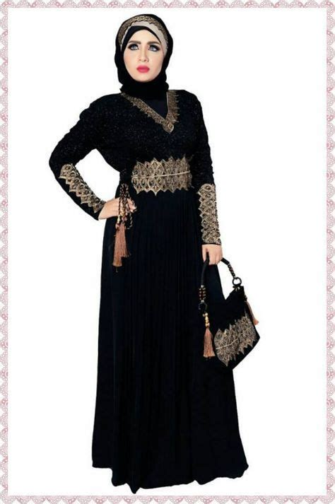 Kaftan Niken dubai kaftan black abaya jalabiya dress new fancy