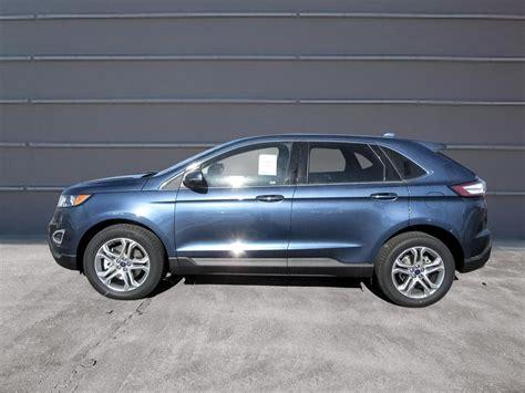 ford edge titanium new 2018 ford edge titanium baxter ford