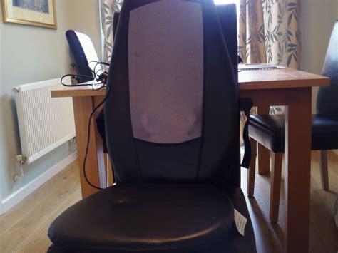si鑒e chauffant massant mon test du fauteuil massant chauffant homedics sbm 179h un classique le fauteuil