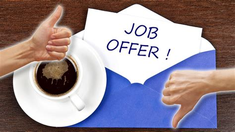job offer how to accept and decline offers lifehacker australia