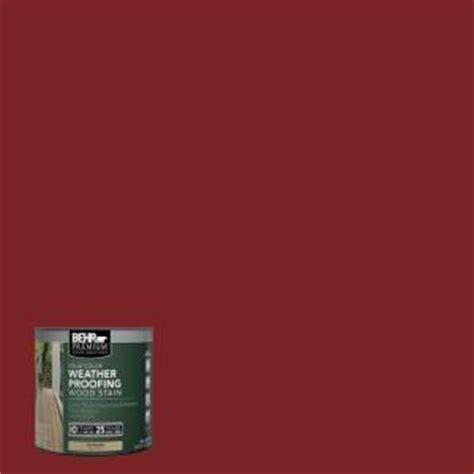 behr premium  oz sc barn red solid color