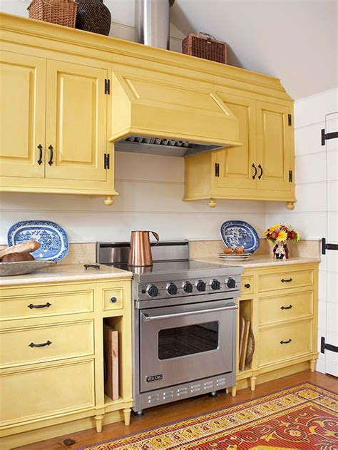 popular kitchen cabinet colors  homes gardens