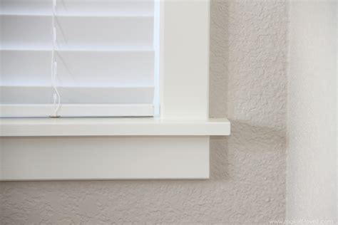 Window Trim With Sill by Home Improvement How To Add Trim Around An Interior