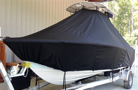 Sportsman Boats T Top by Ttopcovers T Top Boat Cover Elite 9oz Fabric For