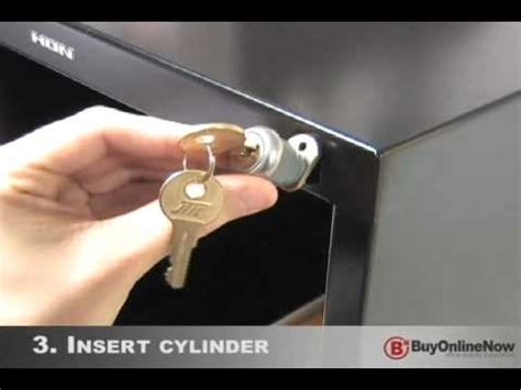 hon filing cabinet lock install how to install file cabinet lock