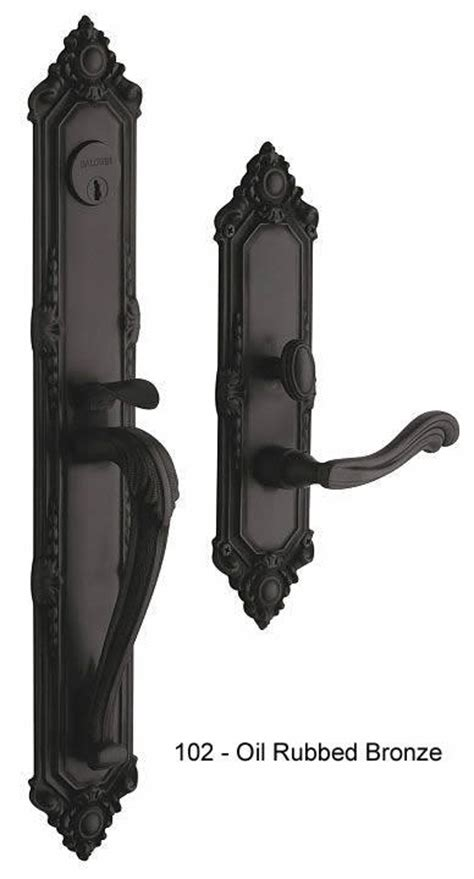 baldwin victorian style solid brass handle set kensington