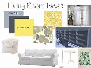 Living Room Color Schemes Gray Walls - Room Image and