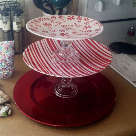 cake stand click pic   diy christmas decorations