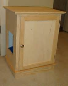 Hidden Cat Litter Box Cabinet