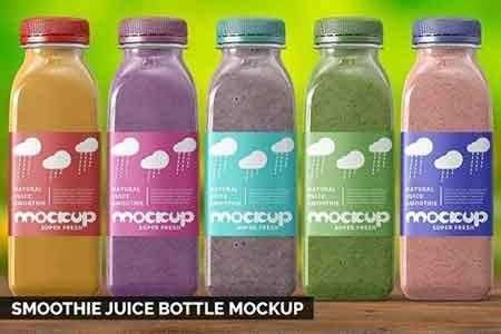 ✓ free for commercial use ✓ high quality images. 1808245 Smoothie Juice Bottle Mockup 2737854 - FreePSDvn