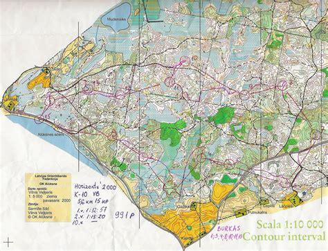 Orientēšanās kartes: jūnijs 2000