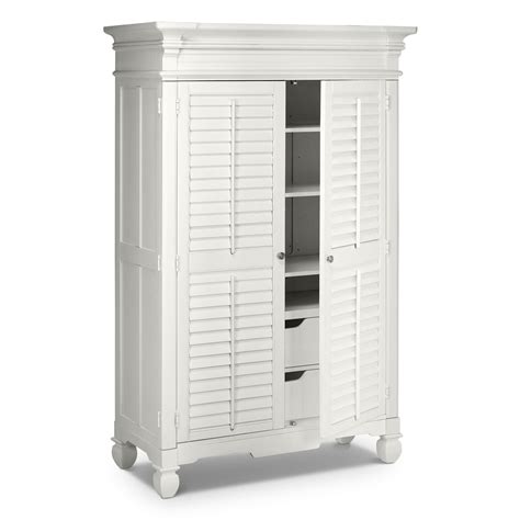 Bedroom Armoire by Plantation Cove White Bedroom Armoire Value City