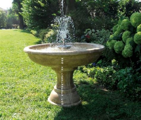 Fontaine Exterieur De Jardin Jets D'eau-a