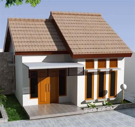 desain rumah type ruang tamu kamar tidur  dapur