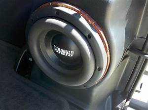 Kicker Crv8 In Factory Subwoofer Enclosure Install