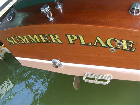 Boat Names After Songs by Our Wooden Boat 1954 Chris Craft Named After Our
