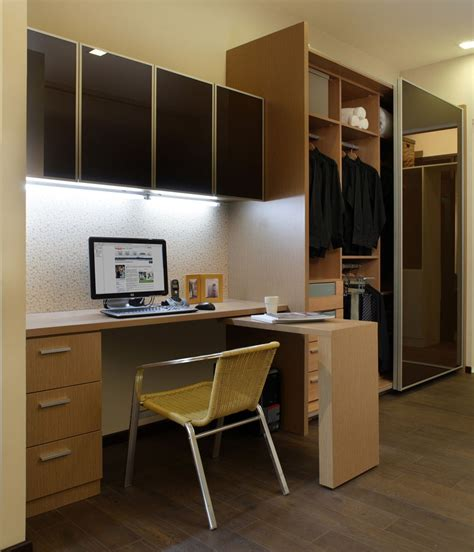 Study Table With Wall Cabinet & Wardrobe  Our Showroom