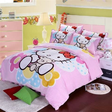 hello kitty comforter lovely hello kitty bedding sets home designing