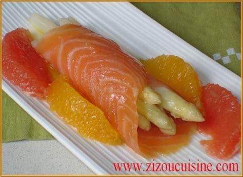 cuisine fut馥 saumon asperges blanches vinaigrette tiède aux agrumes et saumon fumé un prof en cuisine