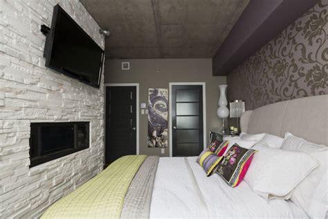 chambre foyer penthouse de r 234 ve au dix30 danielle bonneau maisons de