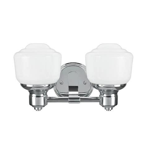 aspen creative corporation 2 light chrome vanity light
