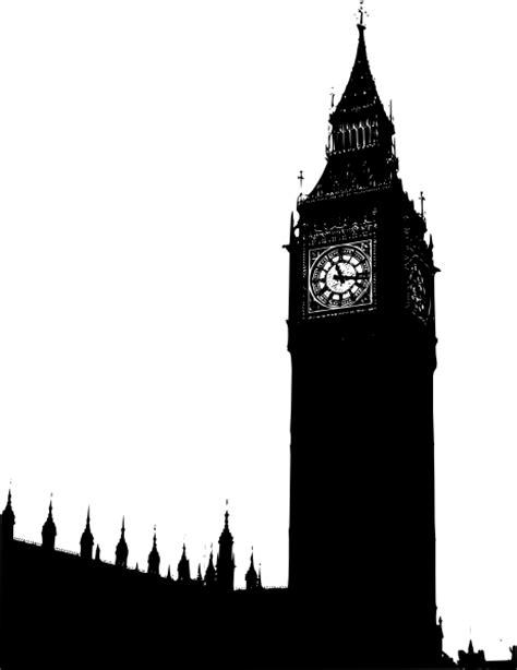 big ben silhouette clip art  clkercom vector clip art