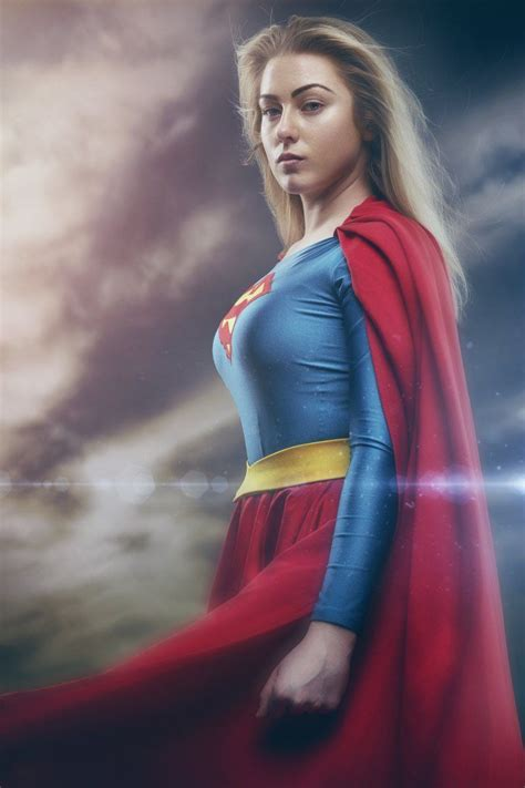 transformed  ordinary girl  supergirl diy