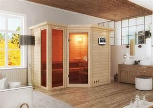 Sauna Gegen Erkältung : ich liebe meinen garten karibu 40 mm massiv sauna amara ~ Frokenaadalensverden.com Haus und Dekorationen
