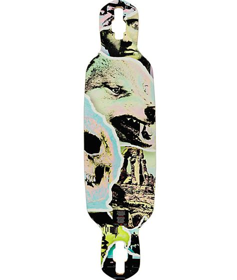Drop Deck Longboard Zumiez by Mercer Ultraviolet 35 Quot Drop Through Longboard Deck