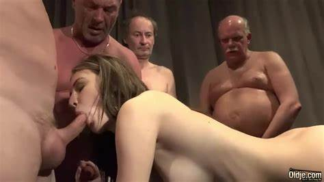 Gang Bang Excites All French Strumpets