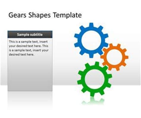gear powerpoint templates   powerpoint