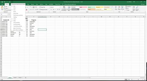 finding the data entry form button in excel 2010 excel data entry form tutorial