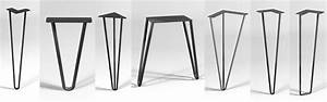 12 places to buy metal hairpin table legs - raw steel