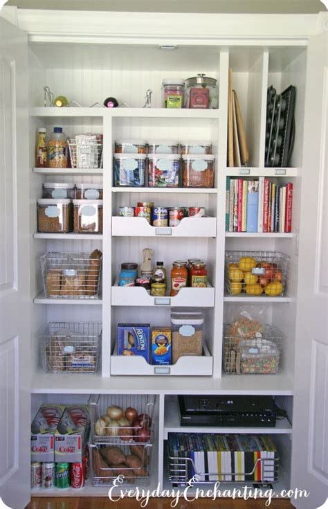 Pantry Storage Ideas by 20 Kitchen Pantry Ideas To Organize Your Pantry