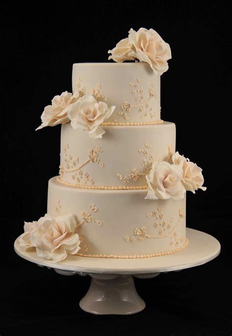 Bakerz Dad Rose Wedding Cake