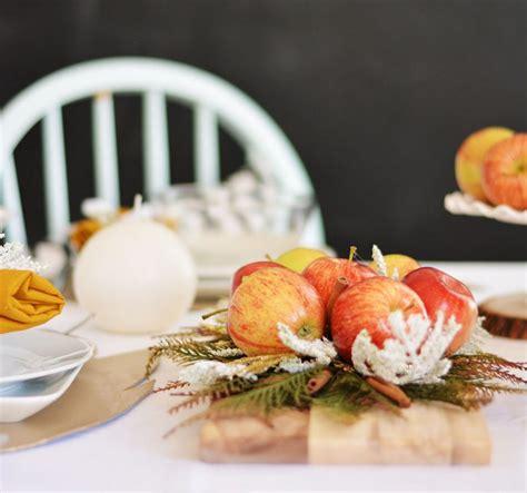 decoration avec une pomme d 233 coration naturelle avec des pommes brico automne hiver
