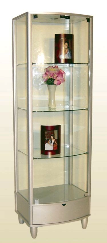 Curved Glass Curio Cabinet By Chintaly by 17 Best Images About Curio Cabinets On Glass