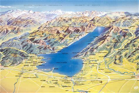 lake garda italy map