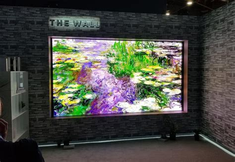 Samsung Will Shrink The Wall Tv For Your Home In 2019