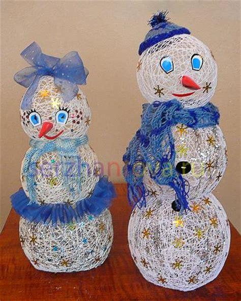 christmas crafts handmade snowman decorations