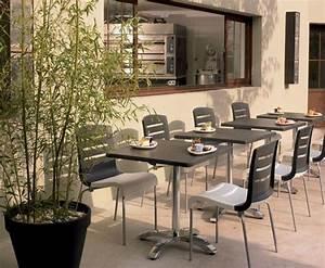 Chaise Terrasse Restaurant : table rabattable cuisine paris table terrasse restaurant ~ Teatrodelosmanantiales.com Idées de Décoration