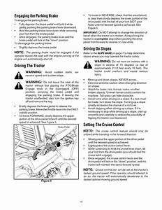 Page 14 Of Cub Cadet Lawn Mower Lt1042 User Guide