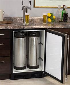 marvel ml24bns1rs x2d kegerator cabinet with x clusive 2 With home beer bar furniture