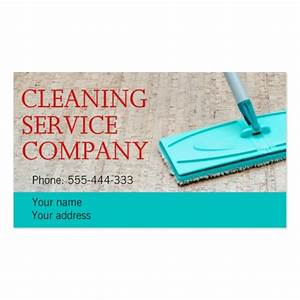 cleaning service double sided standard business cards With cleaning business cards samples
