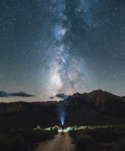 The Night Sky Astrophotograhy Death Valley