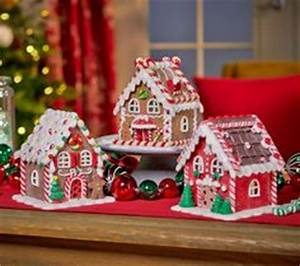 Valerie Parr Hill s Gingerbread Houses from QVC