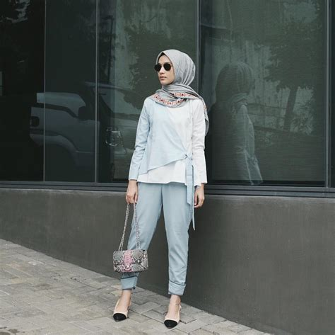 inspirasi fashion hijab selebgram  tutorial hijabku