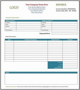 invoice template wordpad createcloudinfo With wordpad invoice template