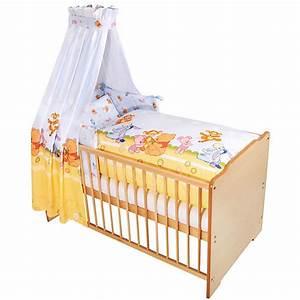 Baby Bettwäsche Set Mit Himmel : bettset baby pooh and friends 3 tlg disney winnie puuh mytoys ~ Frokenaadalensverden.com Haus und Dekorationen